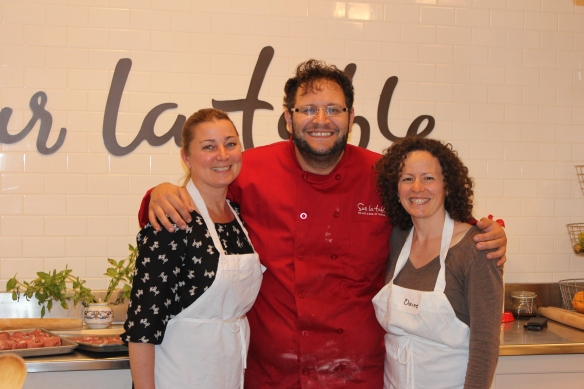 Posing with Chef Michael Proietti