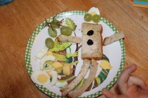 Egg & Bread man