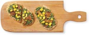 Mushroom & Egg w/Spinach Ricotta